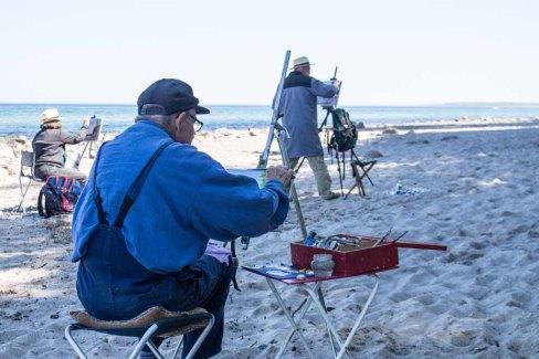 Plein Air Festival 2018 - Ölmaler am Strand von Heiligendamm (c) Frank Koebsch (17)