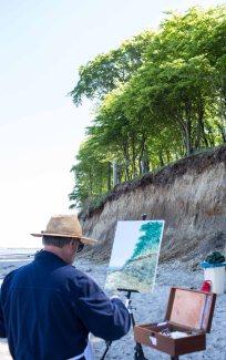 Plein Air Festival 2018 - Ölmaler am Strand von Heiligendamm (c) Frank Koebsch (18)