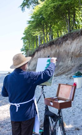 Plein Air Festival 2018 - Ölmaler am Strand von Heiligendamm (c) Frank Koebsch (19)
