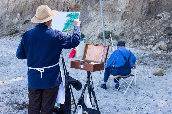 Plein Air Festival 2018 - Ölmaler am Strand von Heiligendamm (c) Frank Koebsch (20)
