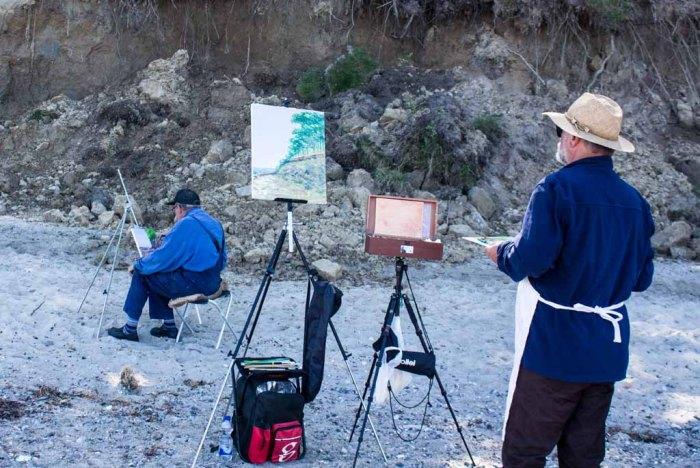 Plein Air Festival 2018 - Ölmaler am Strand von Heiligendamm (c) Frank Koebsch (21)
