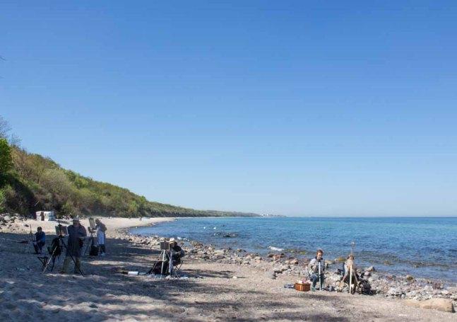 Plein Air Festival 2018 - Ölmaler am Strand von Heiligendamm (c) Frank Koebsch (24)