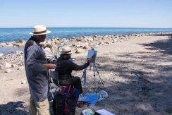 Plein Air Festival 2018 - Ölmaler am Strand von Heiligendamm (c) Frank Koebsch (5)