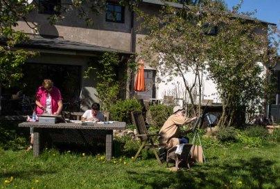 Plein Air Festival 2018 - Pastellmaler in der Alten Büdnerei (c) Frank Koebsch (6)