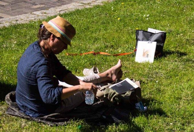 Plein Air Festival 2018 Urban Sketcher beim Münster Bad Doberan (c) Frank Koebsch (15)