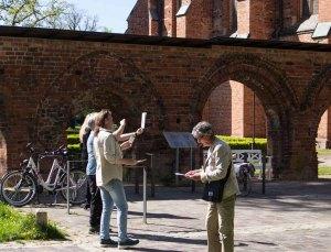 Plein Air Festival 2018 Urban Sketcher mit Jens Hübner beim Kloster Bad Doberan (c) Frank Koebsch (2)