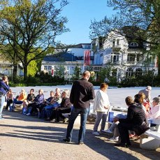 lein Air Festival – Malen an der Ostsee 2018 – Treffen der Teilnehmer zum Kick Off © Frank Koebsch (2)