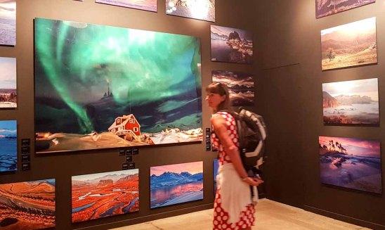 Die Ausstellung – Mit Fotografie die Welt erklären – im Rahmen des Umweltfotofestival - horizonte zingst in der Multimediahalle (c) FRank Koebsch (2)