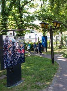 Die Ausstellung von Tim Flach – In Gefahr – bedrohte Tiere im Porträt - im Rahmen des Umweltfotofestival - horizonte zingst am Postplatz (c) FRank Koebsch (3)