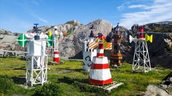 Seezeichensammlung am Kap Lindesnes (c) FRank Koebsch