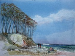 Steilküste von Heiligendamm im Frühling (c) Frank Koebsch