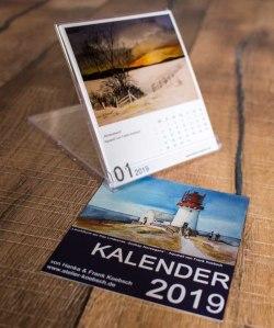 Kalender 2019 mit Aquarellen von Hanka u Frank Koebsch