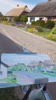 Malen in der Bodden Straße von Groß Zicker (c) FRank Koebsch (6)