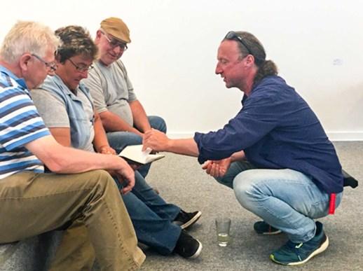 Noch aufkommende Fragen erhielten einen Feinschliff,… (c) Sonja Jannichsen
