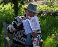 Plein Air Festival 2018 - Die Aquarellmaler werten in der Alten Büdnerei Ihren Workshop aus (c) Frank Koebsch (27)