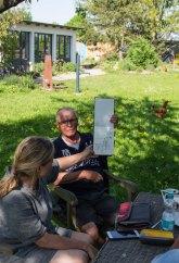 Plein Air Festival 2018 - Die Aquarellmaler werten in der Alten Büdnerei Ihren Workshop aus (c) Frank Koebsch (46)