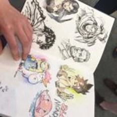 Was hast Du gemalt - Comics von Maxim Simonencko (c) Sonja Jannichsen (1)