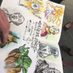 Was hast Du gemalt - Comics von Maxim Simonencko (c) Sonja Jannichsen (2)
