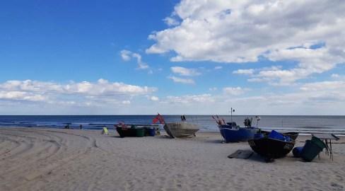 Unsere Motive - Fischerboote am Strand von Baabe (c) Frank Koebsch (1)