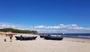 Unsere Motive - Fischerboote am Strand von Baabe (c) Frank Koebsch (2)