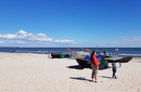 Unsere Motive - Fischerboote am Strand von Baabe (c) Frank Koebsch (4)