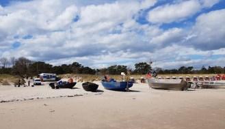 Unsere Motive - Fischerboote am Strand von Baabe (c) Frank Koebsch (5)