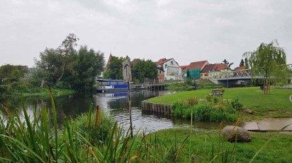 Bei der Warnowbrücke in Schwaan (c) FRank Koebsch