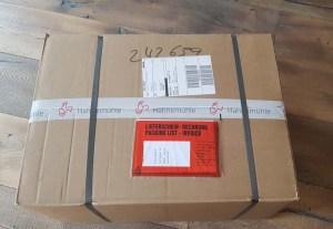 Hurra, ich habe Post - ein Paket von Hahnemühle (c) Frank Koebsch (1)