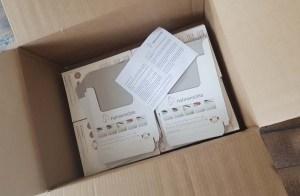 Hurra, ich habe Post - ein Paket von Hahnemühle (c) Frank Koebsch (2)