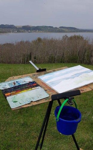 Malen auf den Hügeln von Klein Zicker (c) Frank Koebsch (3)