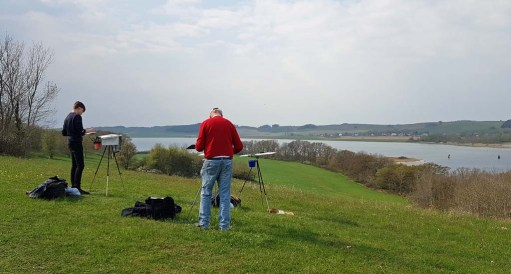 Malen auf den Hügeln von Klein Zicker (c) Frank Koebsch (5)