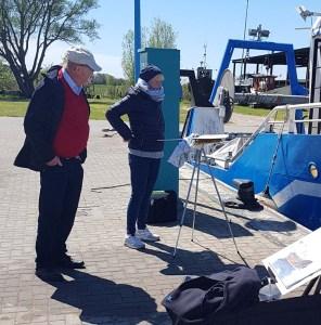 Malen im Hafen von Thiessow (c) Frank Koebsch (5)