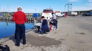 Malen im Hafen von Thiessow (c) Frank Koebsch (7)