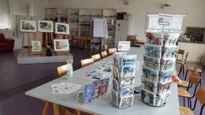 Vorbereitungen der Tag der offenen Tür der VHS Rostock (c) FRank Koebsch
