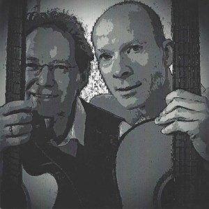 Cover der CD Winterabend des Gitarrenduos Ebert & Beringer (1)