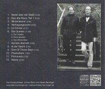 Cover der CD Winterabend des Gitarrenduos Ebert & Beringer (2)