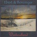 Cover der CD Winterabend des Gitarrenduos Ebert & Beringer mit einem Aquarell von Frank Koebsch (1)