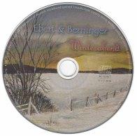 Cover der CD Winterabend des Gitarrenduos Ebert & Beringer mit einem Aquarell von Frank Koebsch (2)
