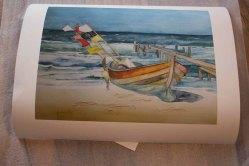 Druck auf Hahnemühle Papier Albrecht Dürer vom Aquarell - Boot am Strand (c) Frank Koebsch (2)