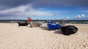 Fischerbbote am Strand von Baabe (c) Frank Koebsch (1)