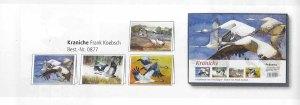 Kunstkarten-Box mit Kranich Aquarellen von Frank Koebsch im Herbst- und Winterprogramm des Präsenz Verlages 2018