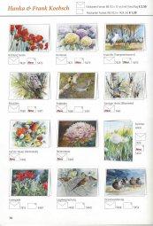 Neue Kunstkarten mit Aquarellen von Hanka & Frank Koebach im Herbst- und Winter Katalog des Präsenz Verlages 2018