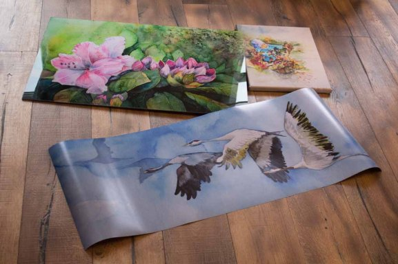 Posterdruck, Druck auf Leinwand und Galerie Druck auf Alu Dibond von unseren Aquarellen (c) FRank Koebsch (1)