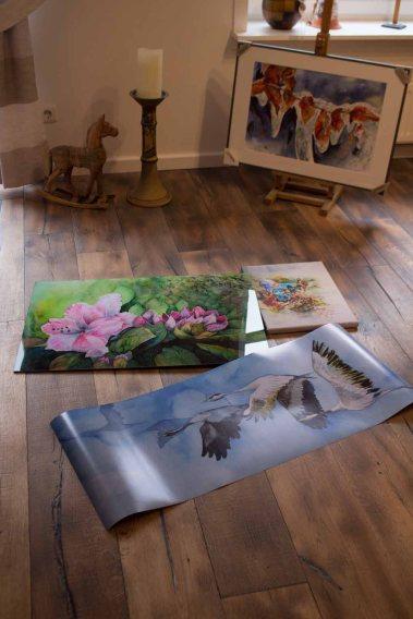 Posterdruck, Druck auf Leinwand und Galerie Druck auf Alu Dibond von unseren Aquarellen (c) FRank Koebsch (2)