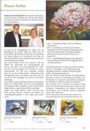 Vorstellung von Hanka & Frank Koebsch im Herbst- und Winter Katalog 2018 des Präsent Verlages