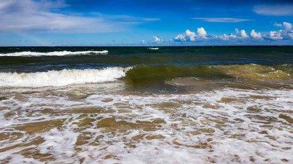 Wellen am Strand von Baabe (c) FRank Koebsch (2)