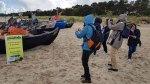 Wir erkunden unsere Motive - die Fischerboote am Strand von Baabe (c) Frank Koebsch (3)