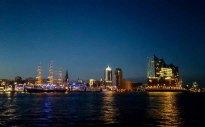 Abend im Hamburger Hafen (c) Frank Koebsch