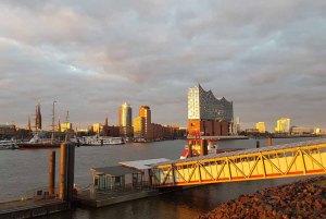 Hamburger Hafen im Abendlicht (c) Frank Koebsch