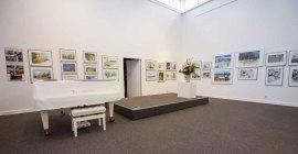 Aquarelle von Hanka & Frank Koebsch in der Kunsthalle Kühlungsborn (1)